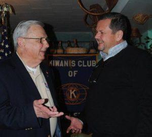 President Ron Organek and Jeffrey Del-Favero.