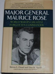Major General Maurice Rose